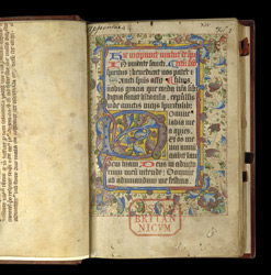 Matins of the Hours of the Holy Spirit, in a Breviary